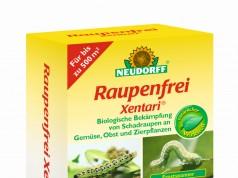 Biologische Präparate wie Neudorff Raupenfrei Xentari sind wirkungsvolle Buchsbaumzünsler Spritzmittel (Foto: Neudorff)